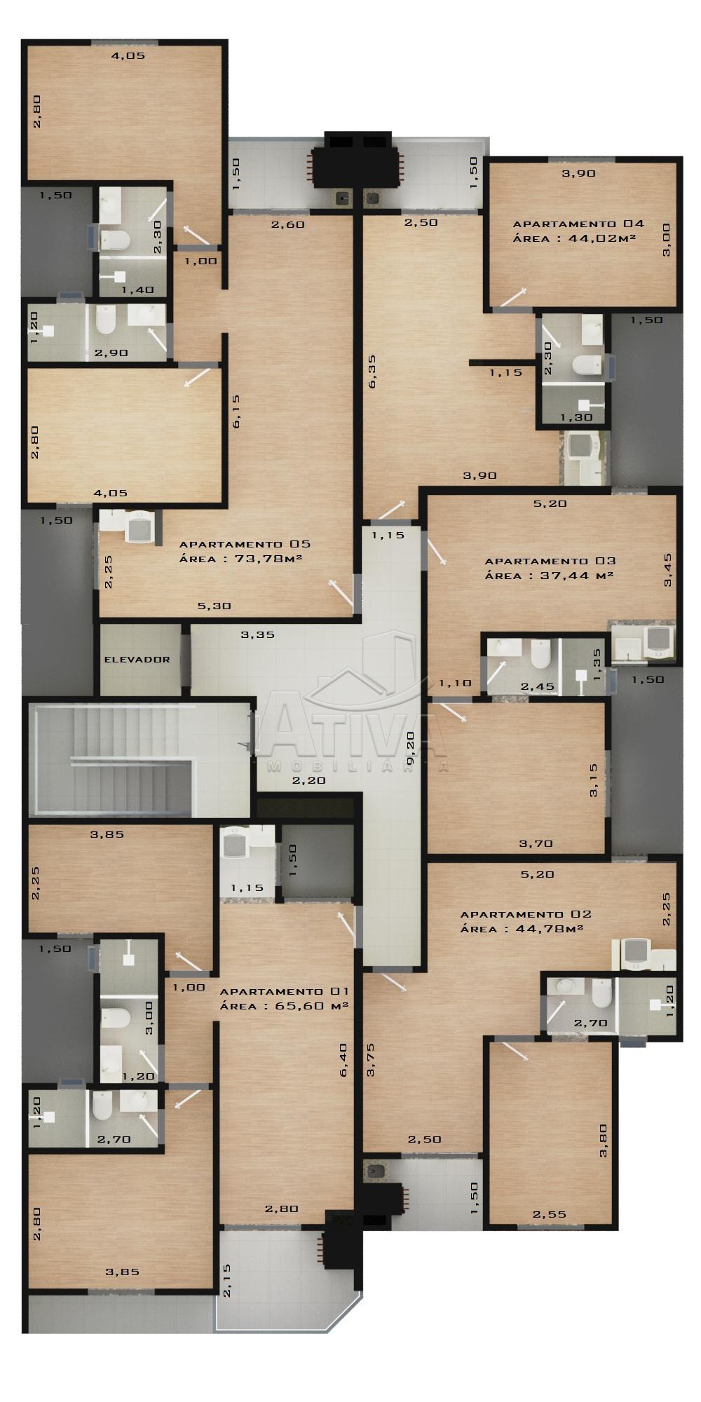 Comprar Apartamento / Padrão em Toledo apenas R$ 158.609,90 - Foto 5