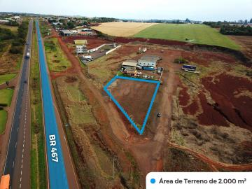Toledo Independencia terreno Locacao R$ 3.000,00  Area do terreno 2000.00m2